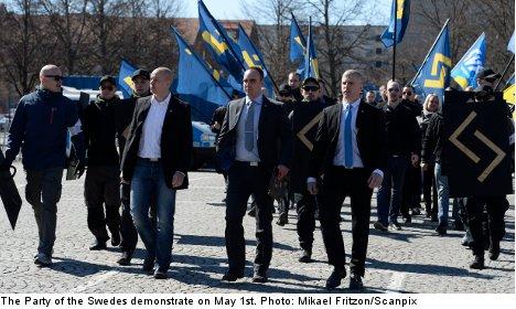 Nazi activity increases in Sweden: report