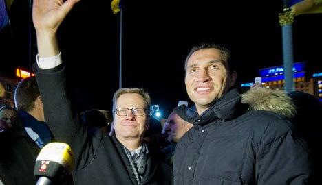 Westerwelle: 'Gates still open for Ukraine'