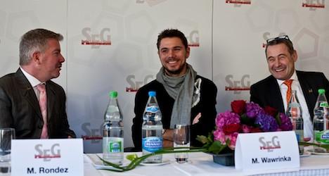 Wawrinka teams up with Swiss hospitality schools