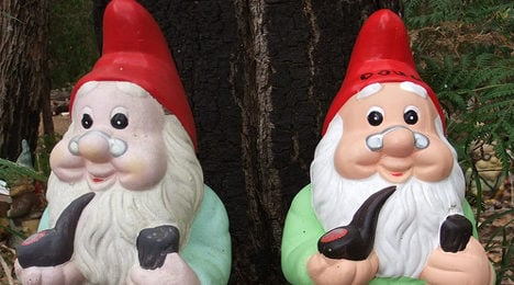Frenchman, 81, jailed over bloody gnome feud
