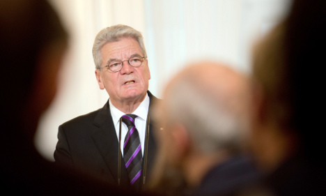Gauck 'cannot afford to be vague on Russia'