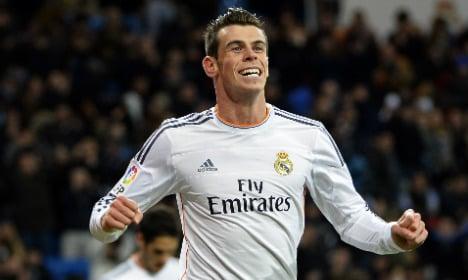 Bale hits hat-trick in Madrid romp