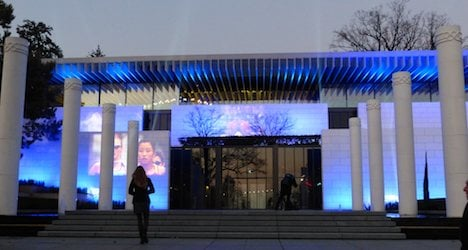 Remodelled Olympic Museum sports new look