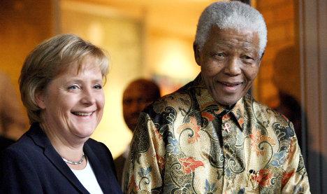 Mandela's complex ties with Germany