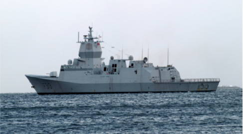 Norwegian ship leaves to pick up Syria weapons