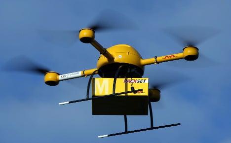 Deutsche Post completes first drone flight