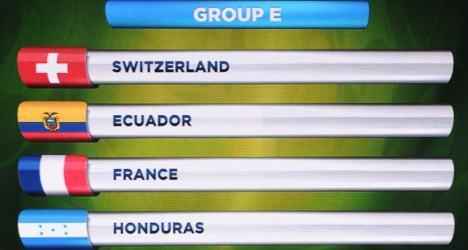 Switzerland fans dream after World Cup draw