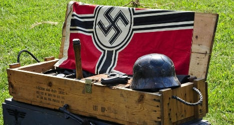 State told to pay collector €8k for binning Nazi flag