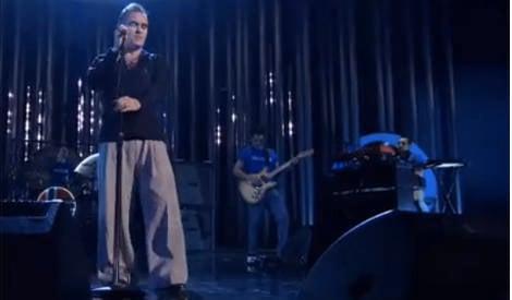 VIDEO: Morrissey's Nobel trouser controversy