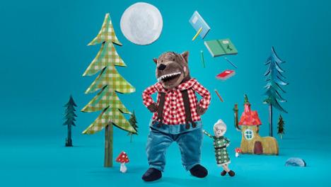 Ikea stuffed wolf sells out amid Hong Kong fury
