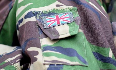 UK soldier arrested in Germany in terror probe