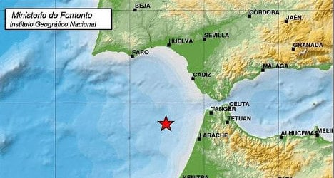 Quake rattles southern Spanish provinces