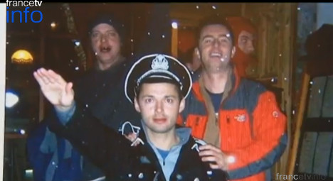 Brit faces fine over Nazi outfit at Alps stag party