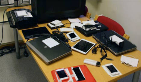Norway arrests web paedophile suspects
