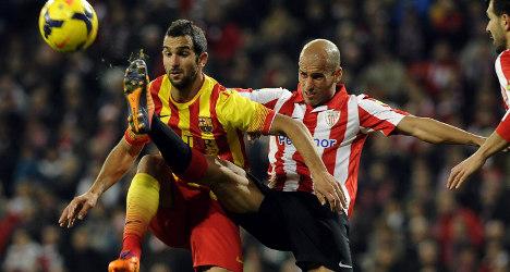 Messi-less Barça beaten again in Bilbao