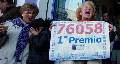 Tax eats into Spain's 'Fat One' Xmas jackpot