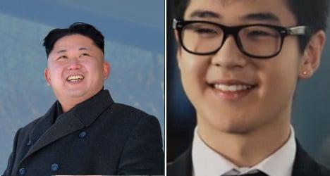 Kim Jong-un's nephew 'under guard' in France