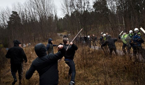 Why Swedes are rallying in their thousands against neo-Nazis