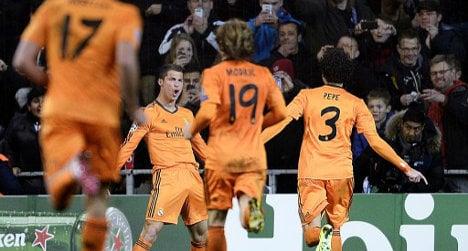 Ronaldo bags goal record in Copenhagen win