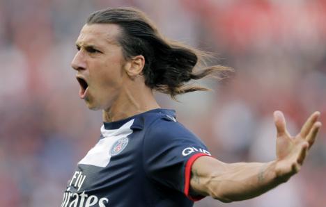 Zlatan scores two as PSG thrash Sochaux
