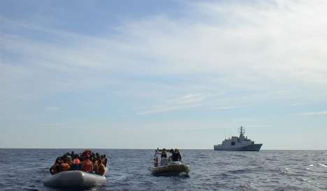 Italy rescues boat with 105 Syrian refugees