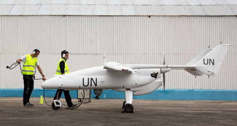 Italy's Finmeccanica builds UN's first drone