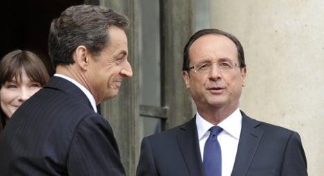 Mandela's spirit lost on Hollande and Sarkozy