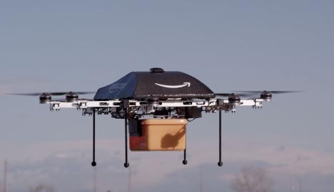 Deutsche Post tests delivery drones