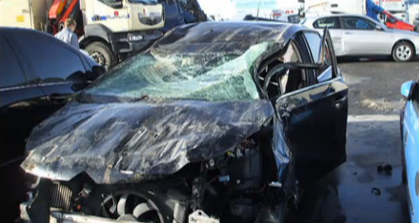 State bills crash victim for €25,000 road damage