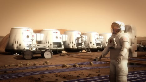 Meet the Germans who want to move to Mars