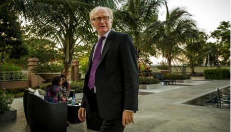 Top envoy in Congo to help jailed Norwegian