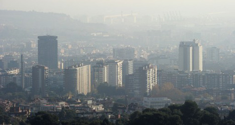 Smog alert issued for 'toxic' Barcelona