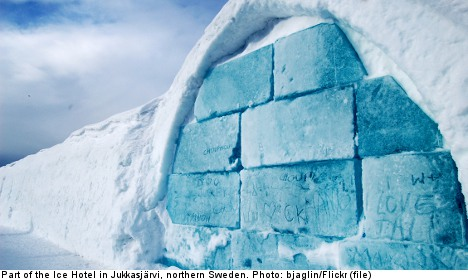 Ice Hotel voted 'best Swedish experience'