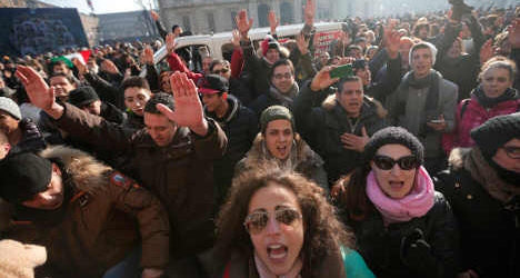 Rome tightens security ahead of protests