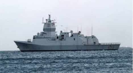Norway ship docks in Cyprus for Syria role