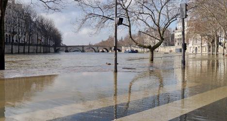 Major Paris flood would leave '850,000 homeless'