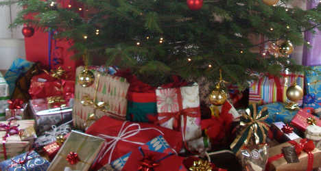 Christmas gifts stolen from under family's tree