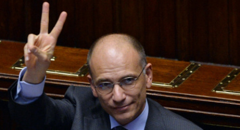 'We will not allow Italy to sink again': Letta