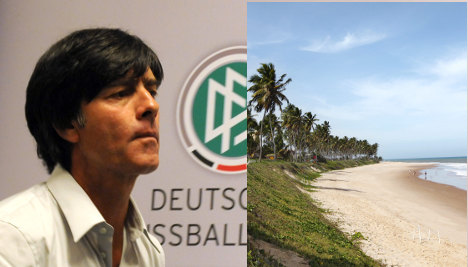 Germany to build own World Cup camp