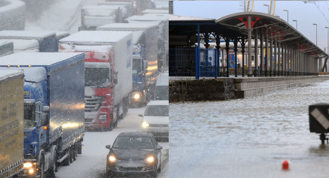 Hurricane Xaver – floods give way to heavy snow