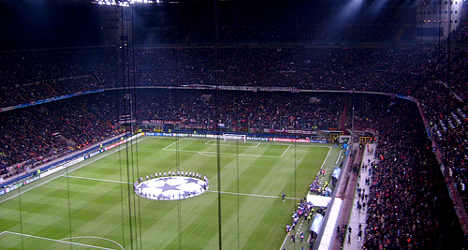 Ajax fans stabbed before Milan clash