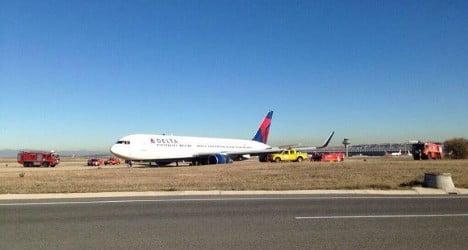 Emergency landing in Madrid for NYC flight