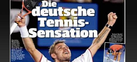 Swiss fury as Germans 'steal' their tennis star