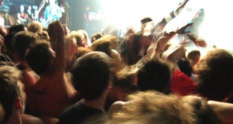 Heavy metal fan dies after leap from stage