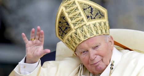 Relic of John Paul II's blood stolen in Italy