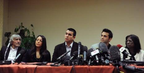 Kerchers 'still have faith in Italian justice system'