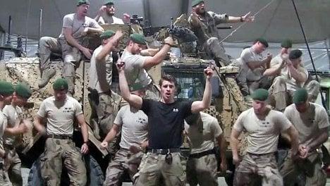 Swedish marines go viral in Greased Lightning clip