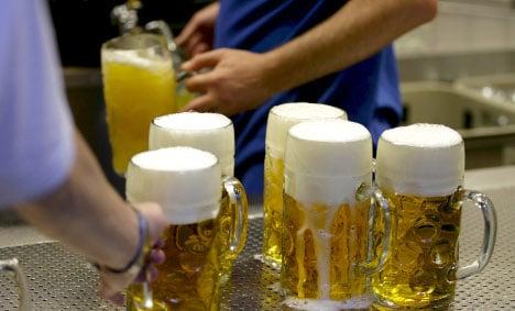 German beer sales sink to 25-year low