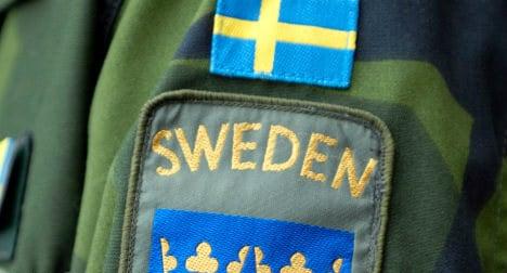 Swedish army seeks news anchor for TV job