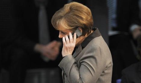Merkel rebukes US and UK over spying